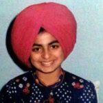 neeru bajwa childhood photo