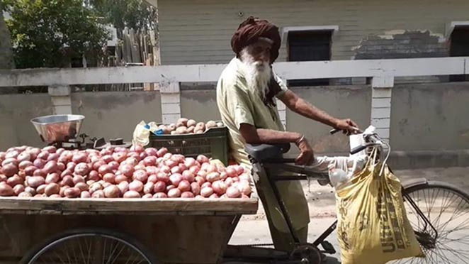 Viral Video: Netizens Helps 100-Year-Old Punjabi Man, Selling Veggies To Support His Orphaned Grandkids