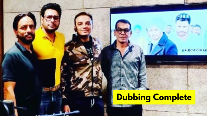 Dev Kharoud Has Completed Dubbing For His Upcoming film 'Shareek 2'