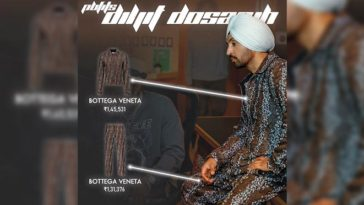 Can You Believe Diljit Dosanjh's Outfit Costs More Than 2 Lakh INR?