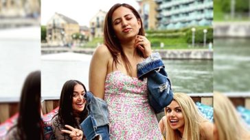 Sargun Mehta Clicked In A Floral Dress. See The Diva's Beautiful Pictures