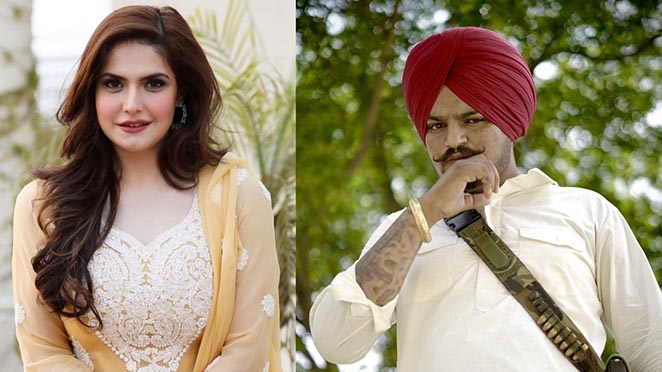 Zareen Khan Expressed Desire To Work With Sidhu Moosewala For A Music Video