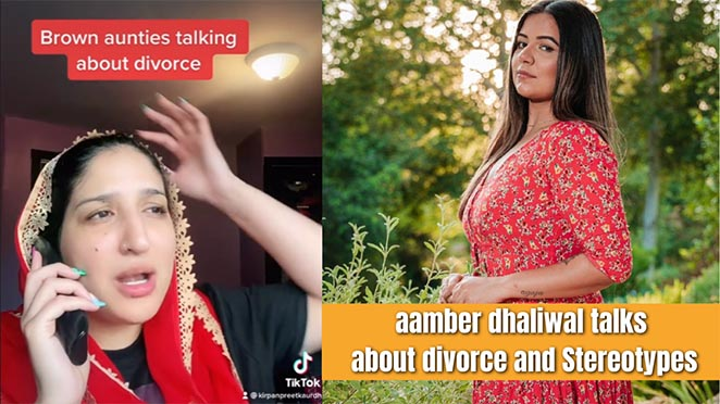 Aamber Dhaliwal Shares Hilarious Video Of 'Brown Aunties Talking About Divorce'