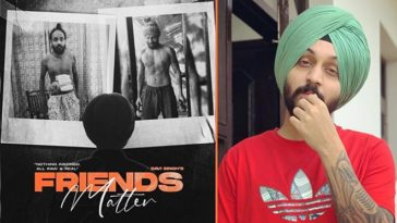 The Landers Shares Poster Of Upcoming Song 'Friends Matter', Davi Singh's Look Will Astound You