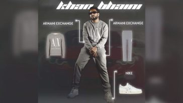 Khan Bhaini Slays In Stylish Armani Outfit In Upcoming Song Churi's Poster