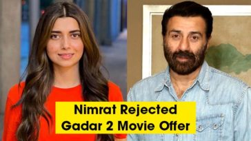 Nimrat Khaira Rejected Sunny Deol's Gadar 2 Movie Offer Due To Zee & Farmer Protest Issue