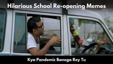 Netizens Feel For The Students & Shared Amazing And Funniest Memes As School Reopens Today