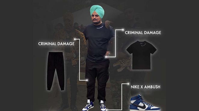 Sidhu Moosewala's Latest Outfit Is A Guide For All Fashionholic Fans. Details Inside