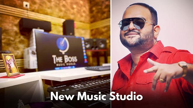 'The Boss' Opens A New Music Studio & The First Project Is Already In Making