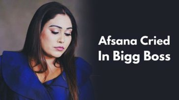 Afsana Khan Finally Had An Emotional Breakdown After The Several Fights In The First Week Of Bigg Boss