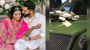 Parmish Verma Has A Span New Bentley Car As An Engagement Gift For His Fiancée